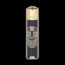 CLIPPER MEXICAN SKULLS DORADO