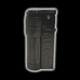 IMCO SUPER TRIPLEX BRASS GUN LOGO 009