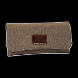 BOLSA TABACO DE LIAR CANVAS MARRON 043