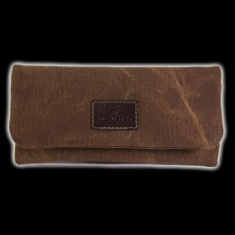 BOLSA TABACO DE LIAR CANVAS MARRON 044