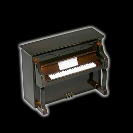 MINIATURA PIANO PARED