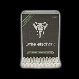 FILTROS WHITE ELEPHANT DE CARBÓN ACTIVADO 150 UNI